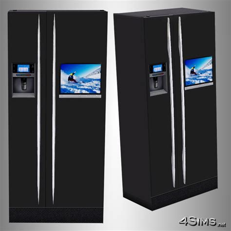 Ultra Modern Refrigerator for Sims 3   4Sims