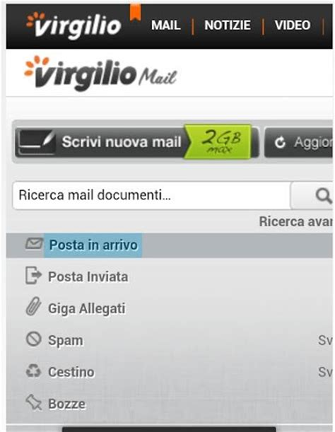 virgilio it mobile virgilio mail mail play softwares