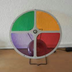 vintage color wheel for aluminum christmas by