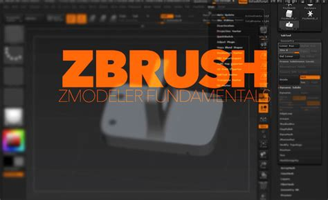 tutorial zbrush 4r7 zmodeler fundamentals in zbrush 4r7 lesterbanks