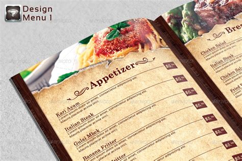 restaurant menu card design templates 25 restaurant menu card design templates