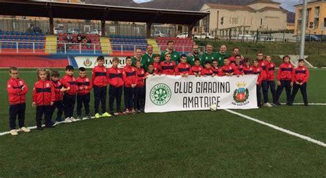 club giardino carpi rieti il club giardino di carpi dona 85 kit sportivi all