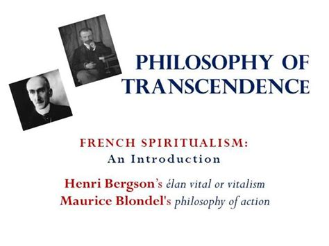 an introduction to personalism books bergson blondel authorstream