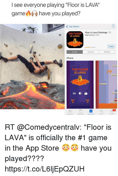 lava l floor l l see everyone floor is lava you played
