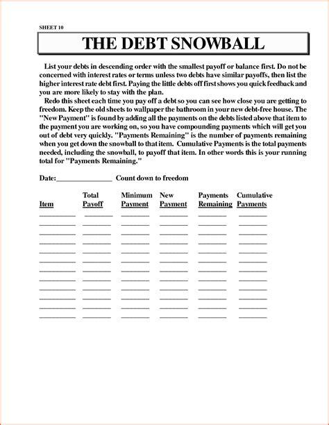 Debt Snowball Worksheet by Uncategorized Snowball Debt Worksheet Klimttreeoflife