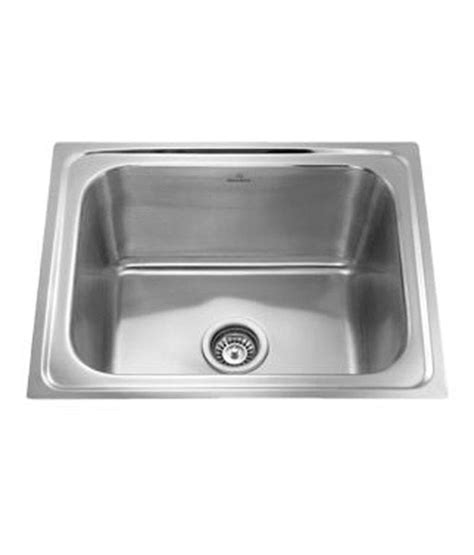 buy ss sink stainless steel kitchen sink 24x18x8 on