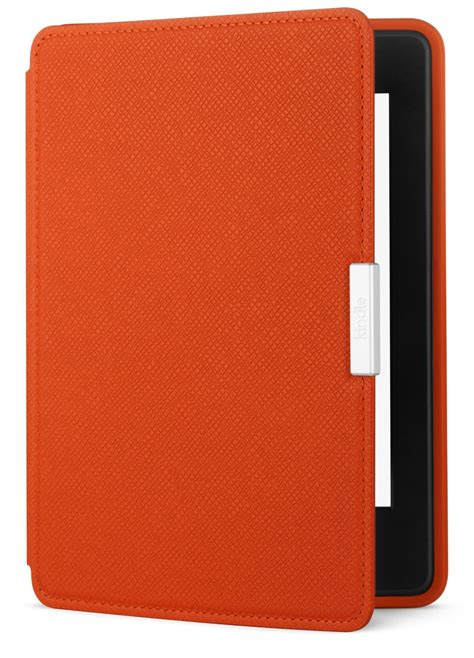 amazon kindle indonesia amazon kindle paperwhite leather case in black red in