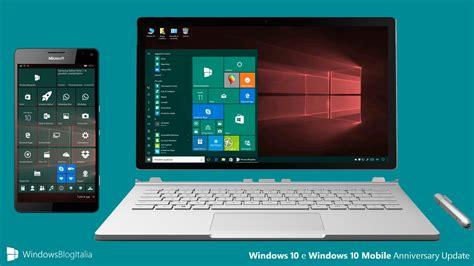 microsoft mobile update avvistata la build 14393 67 rtm di windows 10 e windows 10