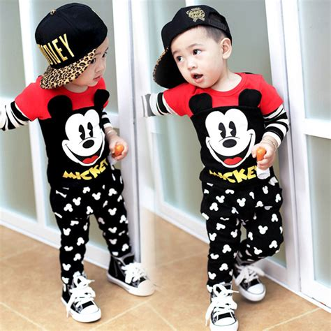 Mickey Family Set Isi 6pcs mickey mouse clothes for boys www pixshark images