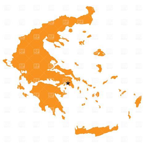 greece map vector greece map outline royalty free vector clip image 893
