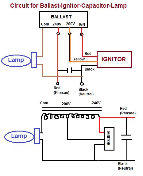 mercury vapor light wiring diagram mercury vapor light