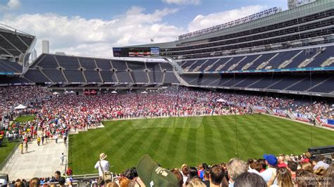 Soldier Field Section 224 Concert Seating Rateyourseats Com