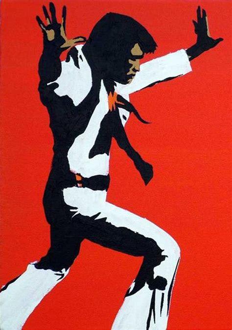 elvis presley pop art painting elvis pop art pop art pinterest