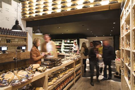 amsterdam cheese flagship store  studiomfd amsterdam