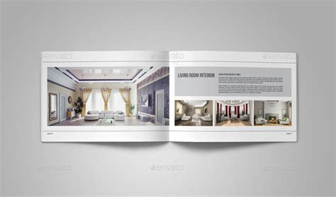 Portfolio Brochure Template On Behance Interior Design Portfolio Template