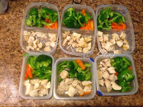 5 Dishes To Start The Week With by Diary Of A Fit 5 Top Foods To Meal Prep For The Week