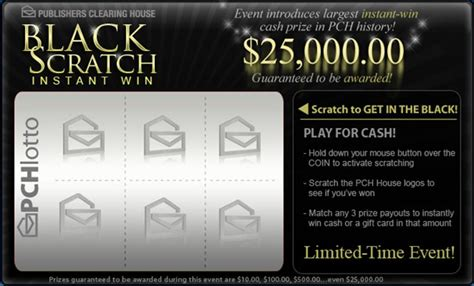 Pch Instant Win Scratch Card - biggest instant win prize in pch history pch blog
