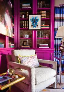 purple office decor jewel tones color trend home decor interior design