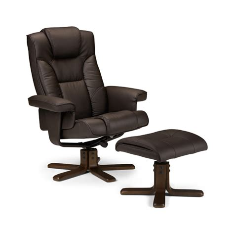 Stylish Recliner Malmo Recliner Chair With Foot Rest Stool 8927 Furniture In