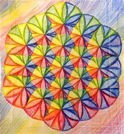 geometric designs using compass 1000 images about math art on pinterest geometric