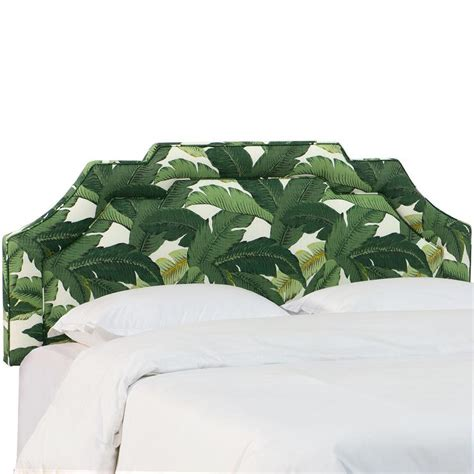 banana leaf headboard moroccan pillow palm green pillows cushions wisteria