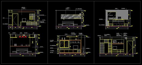 autocad room design master room design template architecture drawings