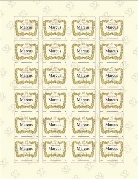 printable hennessy label hennessy labels personalized related keywords hennessy