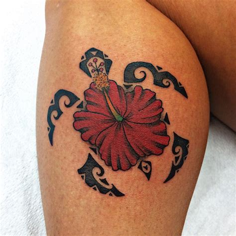 tribal flower tattoos meanings flower tribal hibiscus august