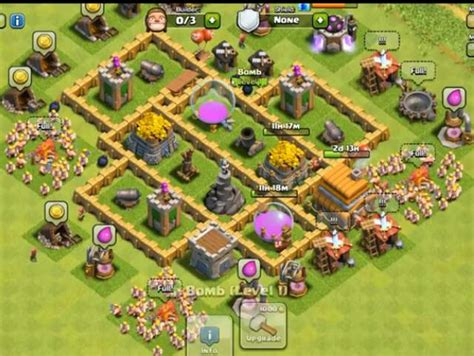 layout coc town hall level 5 clash of clans builder best town hall 5 layouts heavy com