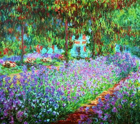 claude monet garten webmuseum monet claude the artist s garden at giverny