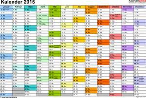 Wochen Kalender 2015 Kalender 2015 Zum Ausdrucken Als Pdf 16 Vorlagen Kostenlos