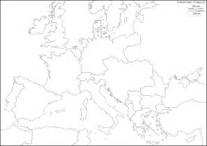 World War Ii Outline Map Of Europe by Post World War 1 Blank Map