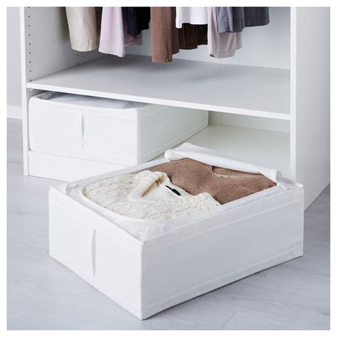 ikea skubb skubb storage case white 44x55x19 cm ikea