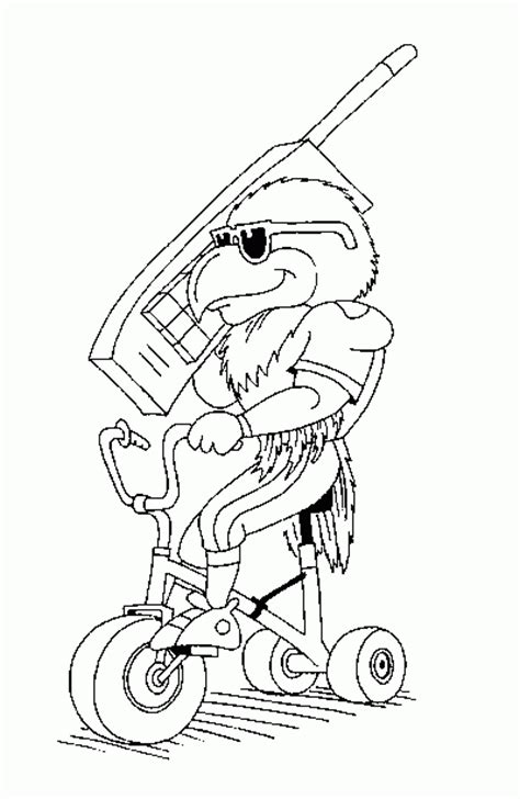 Pin Seahawks Coloring Pages On Pinterest Seattle Seahawk Coloring Pages
