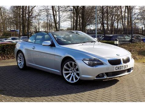 bmw 6 series convertible for sale used bmw 6 series convertible 3 0 630i sport for sale