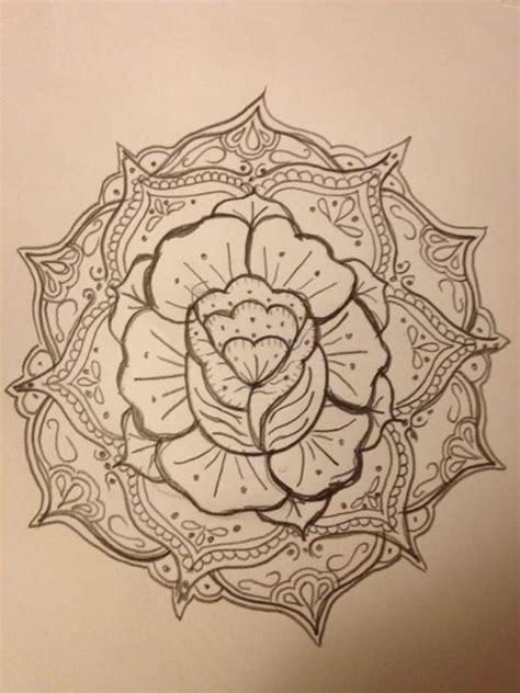 rose mandala an untold story pinterest