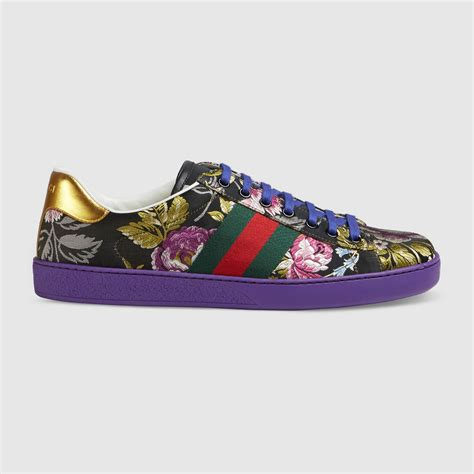 gucci flora sneaker ace floral jacquard sneaker gucci s sneakers