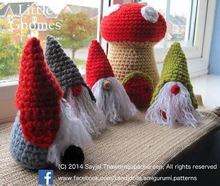 ravelry  gnomes  mushrooms houses amigurumi