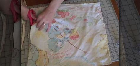 Easy Sew Pillow by How To Sew Easy Pillow Shams From T Shirts And Fabric