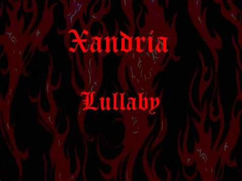 lyrics xandria xandria lullaby