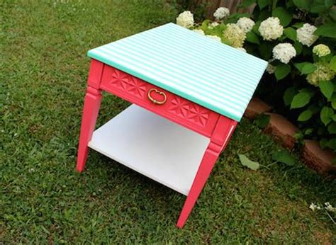 Wrapping Paper Decoupage Furniture - 15 unique decoupage furniture projects furniture tables