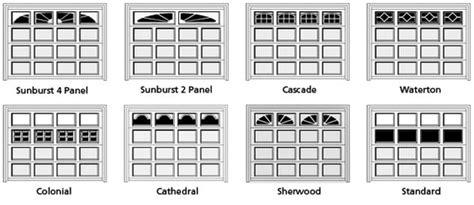 garage door style windows c h i garage door installations in orange county free