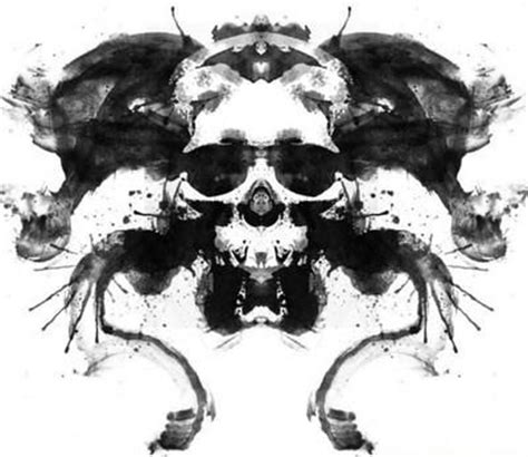 tattoo ink test inkblot rorschach test and inkblot test pinterest