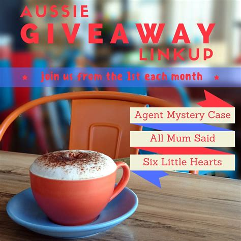 Aussie Giveaways - aussie giveaway linkup november 2016 agent mystery case
