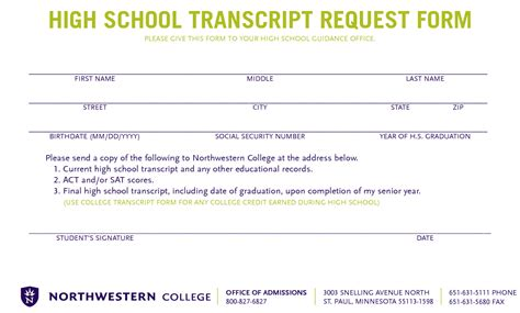 high school transcript request template sle letter of request for high school transcript