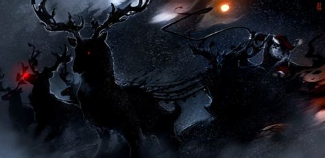 dark xmas wallpaper merry christmas by therisingsoul on deviantart