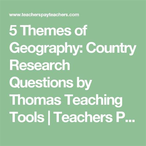 themes of geography quiz best 25 research question ideas on pinterest thesis