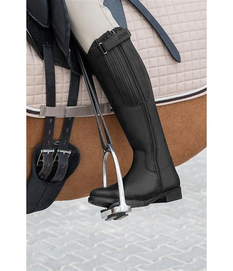leather riding long leather riding boots rancher long leather riding
