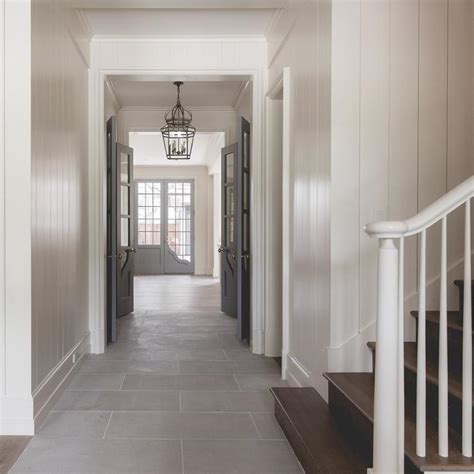 interior design grey walls white trim white walls with gray interior doors cottage entrance