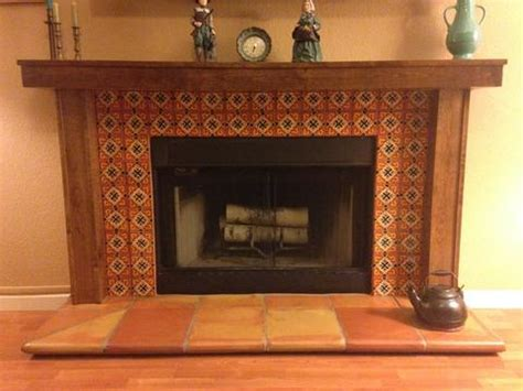 images pictures  ideas  mexican style fireplaces